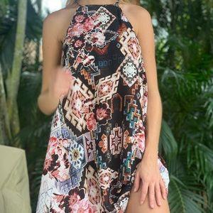 Show Me Your Mumu flowy mini dress
